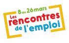 Rencontres de l'emploi du 8 au 26 mars