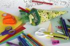 Pliages, découpages, coloriages...