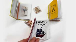 Atelier : réaliser un mini-livre