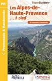 Alpes-de-Haute-Provence... à pied (Les)