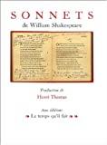 Sonnets de William Shakespeare