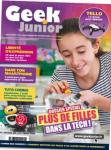 Geek Junior, 6 - Novembre 2020 - Dossier spécial : plus de filles dans la tech !